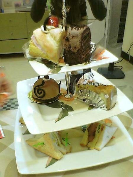 三層蛋糕架