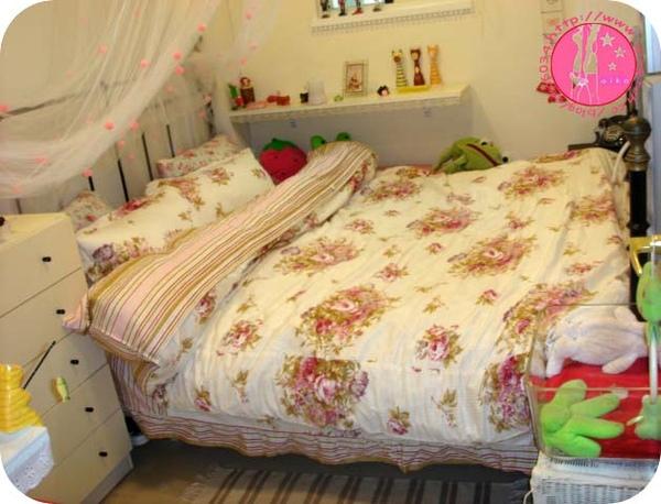 超浪漫玫瑰床組