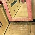 冰塊椅墊高粉紅鏡