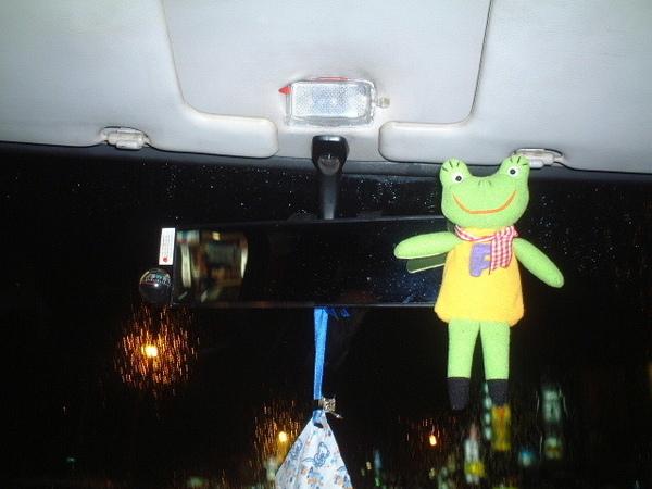 鏡子上也要有愛的蛙寶貝