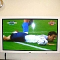 美麗白色電視