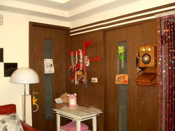 後陽台&廚房門