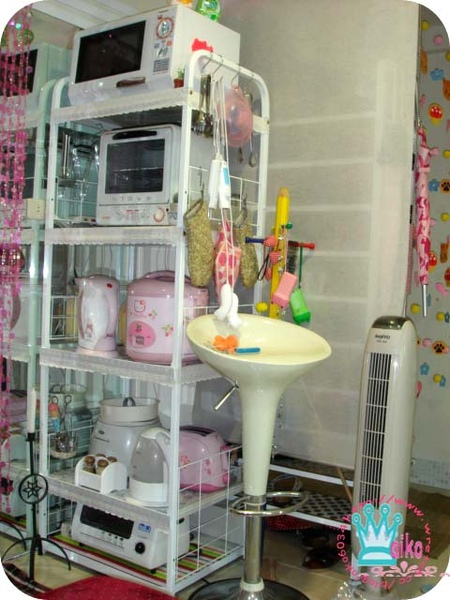 電器櫃美白+蕾絲裝飾