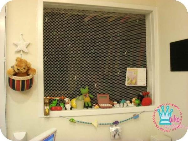 鄉村鐵網窗