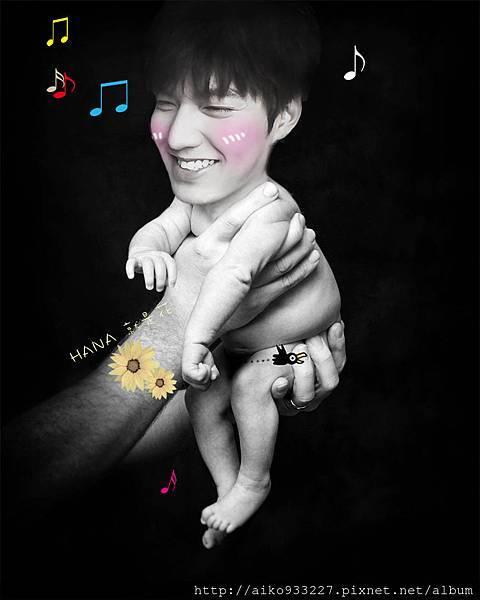 baby可愛的  李敏鎬