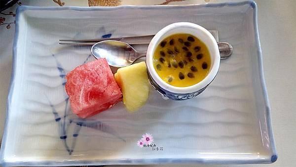 果物+甜點