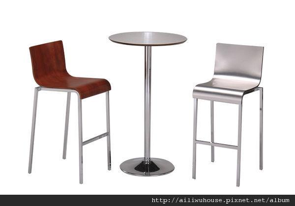 現代時尚高吧桌+北歐閒情高吧椅+現代時尚高吧椅