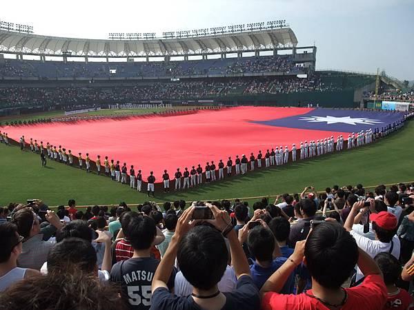 MLB-國旗開展