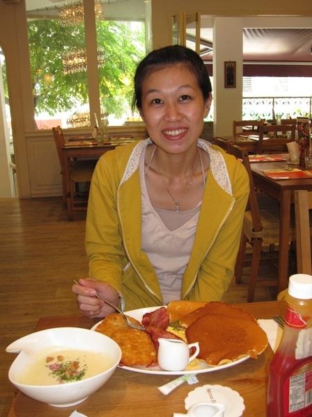 雙份早餐大大滿足