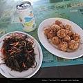 炸魚卵及炒海菜.jpg