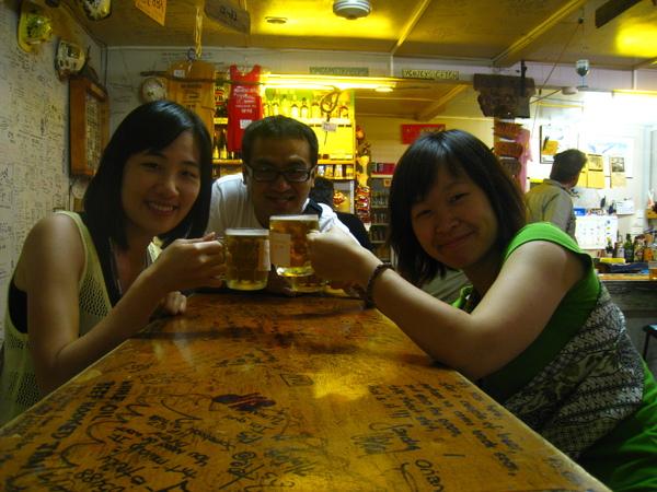 三個愛喝酒的人