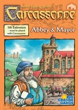 Board Game 桌遊 Carcassonne 卡卡頌 Abbey & Mayors.jpg