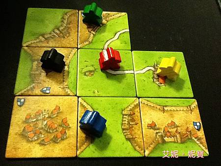 Board Game 桌遊 Carcassonne 卡卡頌 Basic24.JPG