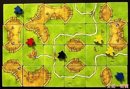 Board Game 桌遊 Carcassonne 卡卡頌 Basic29.JPG