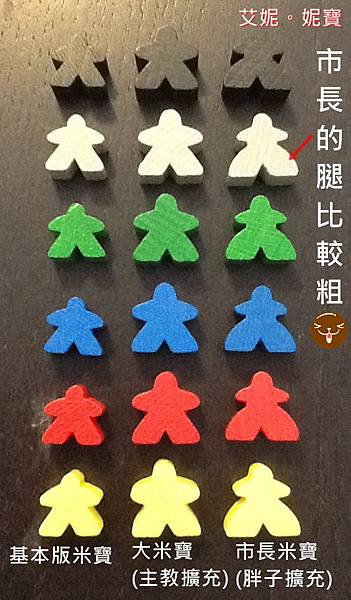 Board Game 桌遊 Carcassonne 卡卡頌 Abbey & Mayors3.JPG