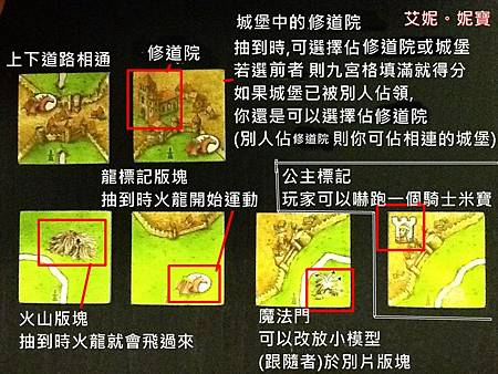 Board Game 桌遊 Carcassonne 卡卡頌 The Princess and the Dragon3.JPG