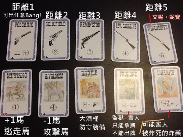 AININIBO艾妮妮寶_Board Game 桌遊 Bang!5