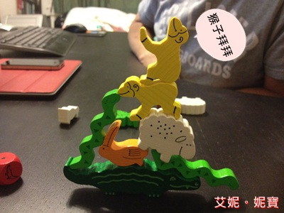 AININIBO艾妮妮寶_Board Game 桌遊 Animal Upon Animal 動物疊疊樂10