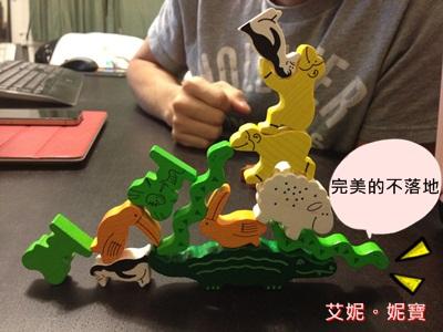 AININIBO艾妮妮寶_Board Game 桌遊 Animal Upon Animal 動物疊疊樂11