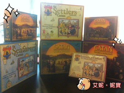 AININIBO艾妮妮寶_Board Game 桌遊 Catan 卡坦島