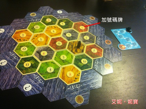 AININIBO艾妮妮寶_Board Game 桌遊 Catan 卡坦島 Cities and Knights 騎士擴充4