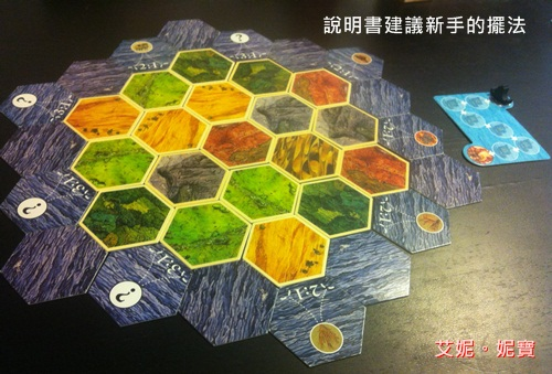 AININIBO艾妮妮寶_Board Game 桌遊 Catan 卡坦島 Cities and Knights 騎士擴充18