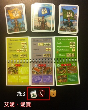 AININIBO艾妮妮寶_Board Game 桌遊 Catan 卡坦島 Cities and Knights 騎士擴充15