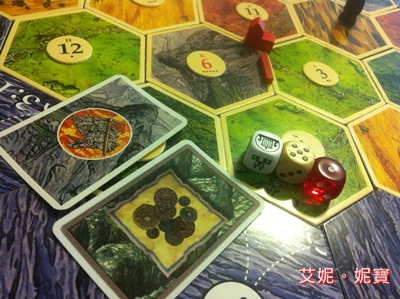 AININIBO艾妮妮寶_Board Game 桌遊 Catan 卡坦島 Cities and Knights 騎士擴充20