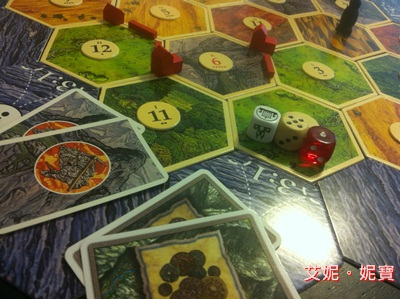 AININIBO艾妮妮寶_Board Game 桌遊 Catan 卡坦島 Cities and Knights 騎士擴充22