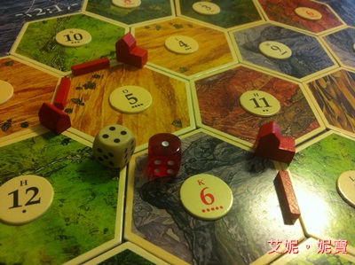 AININIBO艾妮妮寶_Board Game 桌遊 Catan 卡坦島 Cities and Knights 騎士擴充25