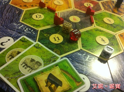 AININIBO艾妮妮寶_Board Game 桌遊 Catan 卡坦島 Cities and Knights 騎士擴充24