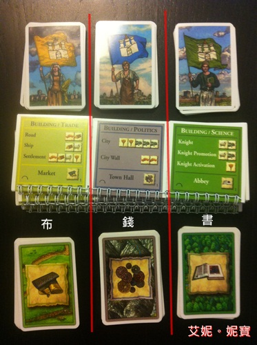 AININIBO艾妮妮寶_Board Game 桌遊 Catan 卡坦島 Cities and Knights 騎士擴充6
