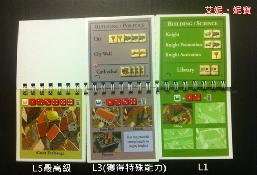 AININIBO艾妮妮寶_Board Game 桌遊 Catan 卡坦島 Cities and Knights 騎士擴充8