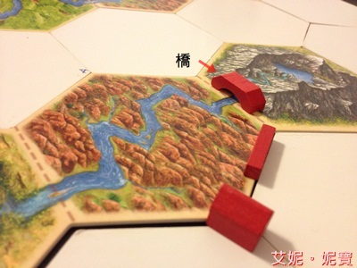 AININIBO艾妮妮寶_Board Game 桌遊 Catan 卡坦島 Traderes & Barbarians 野蠻人擴充場景2河流4
