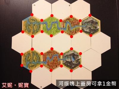 AININIBO艾妮妮寶_Board Game 桌遊 Catan 卡坦島 Traderes & Barbarians 野蠻人擴充場景2河流6