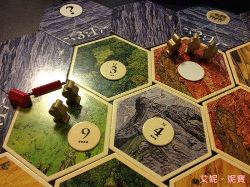 AININIBO艾妮妮寶_Board Game 桌遊 Catan 卡坦島 Traderes & Barbarians 野蠻人擴充3