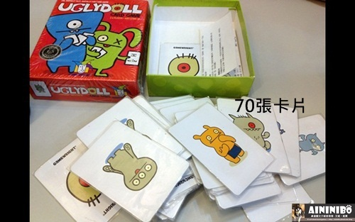 Board Game 桌遊 Uglydoll card game 醜娃娃_1