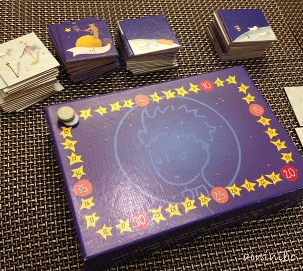 桌遊x艾妮。妮寶board game 小王子little prince 4