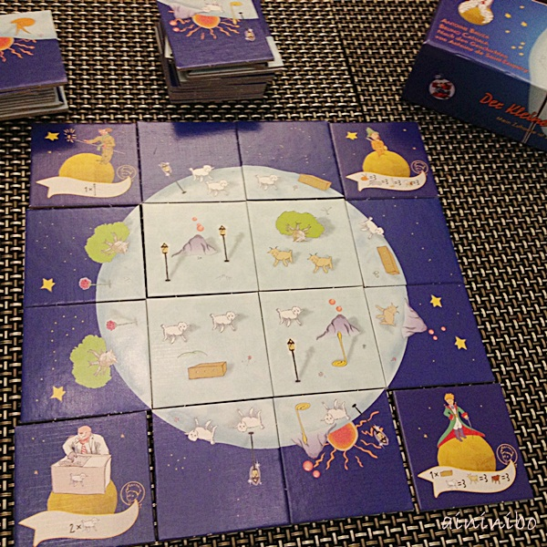 桌遊x艾妮。妮寶board game 小王子little prince 5