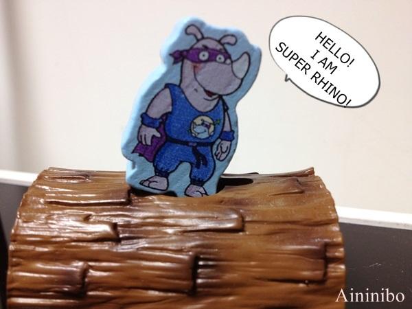 桌遊BOARD GAME Super Rhino 超級犀牛 艾妮妮寶1