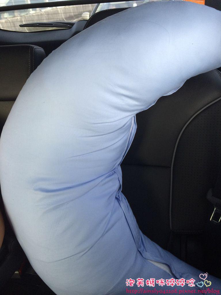 [敗家] 媽咪小站孕媽咪微笑枕