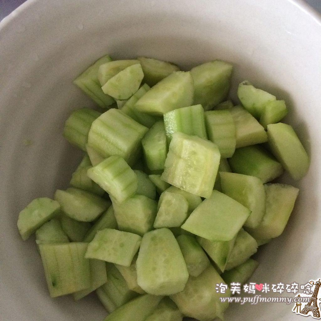 [8M] 小黃瓜泥