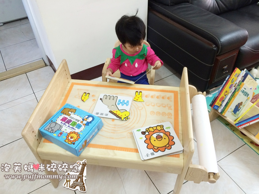 MesaSilla 寶寶自主桌椅組