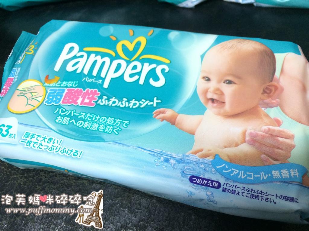 幫寶適弱酸性嬰兒濕紙巾