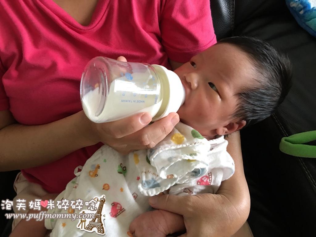 PUKU實感寬口玻璃奶瓶