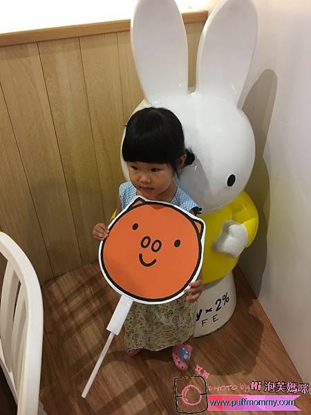 2017/04/18 miffy x 2% CAFE環球桃園A8店