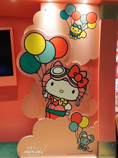 2019/04/11 桃園國際機場Hello Kitty候機室