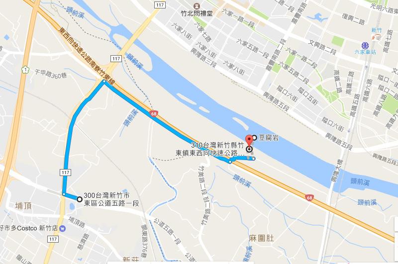 豆腐岩路線
