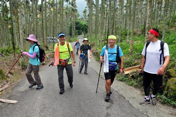 登山健行的前哨站~~台南最高峰大棟山步道的完登紀錄