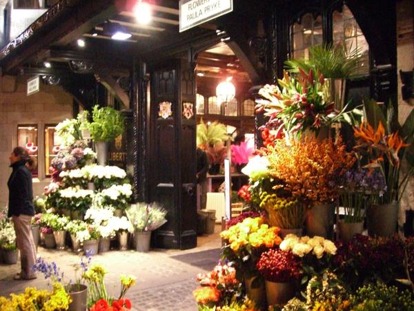 Liberty 百貨的花店